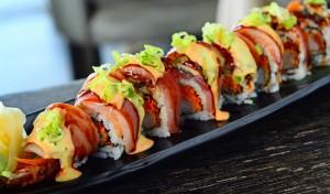 Sushi Jin Next Door special roll