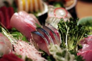 Sushi Jin Next Door sashimi