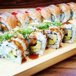 Sushi Jin Next Door rolls 2